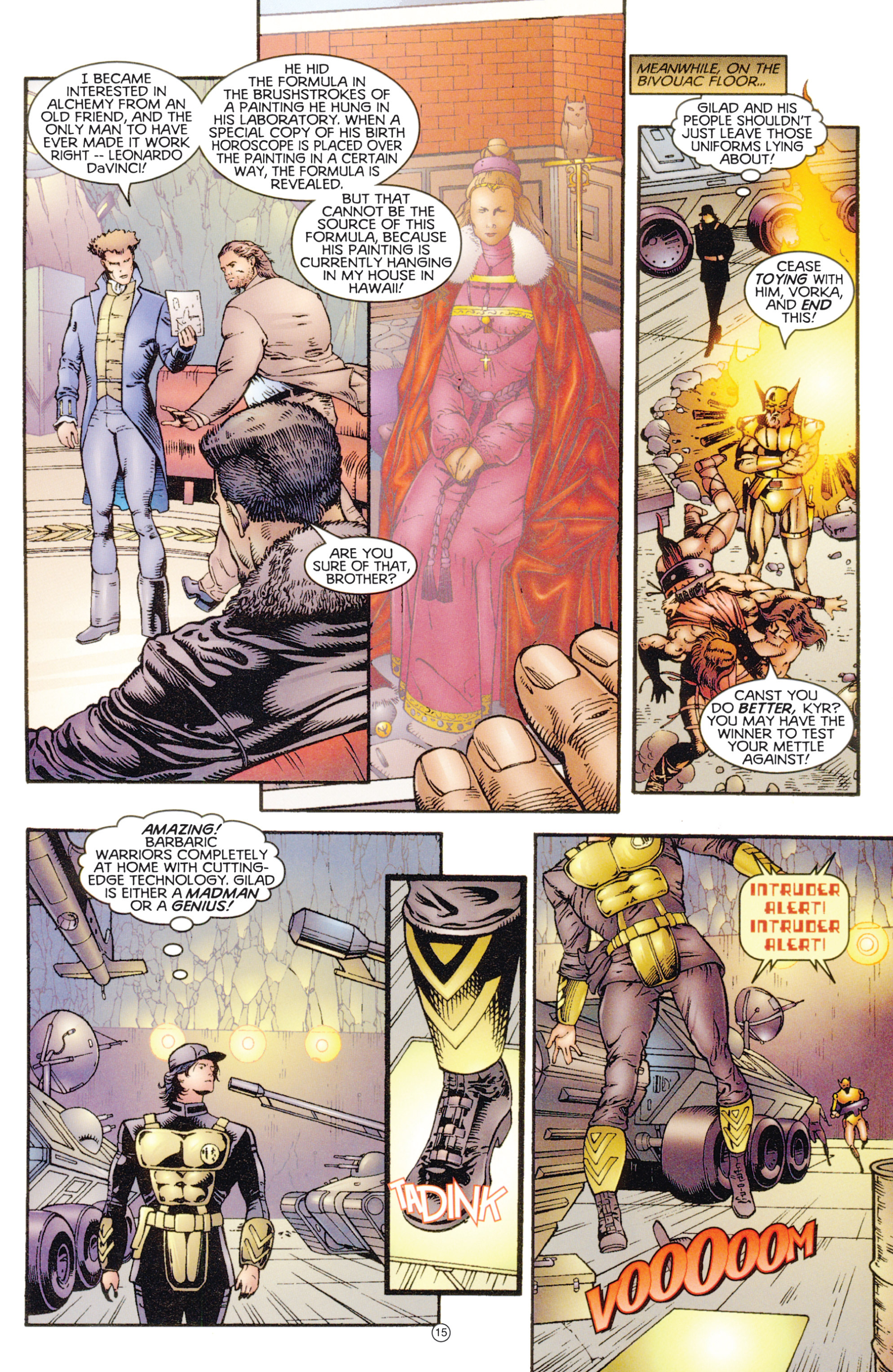Read online Eternal Warriors comic -  Issue # Issue Digital Alchemy - 14