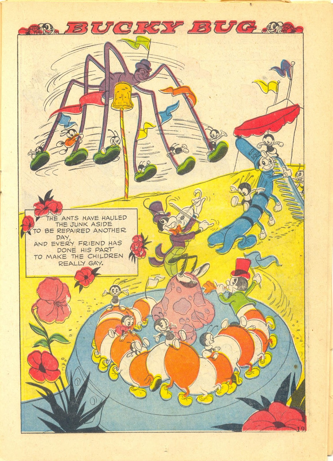 Walt Disney's Comics and Stories issue 40 - Page 21