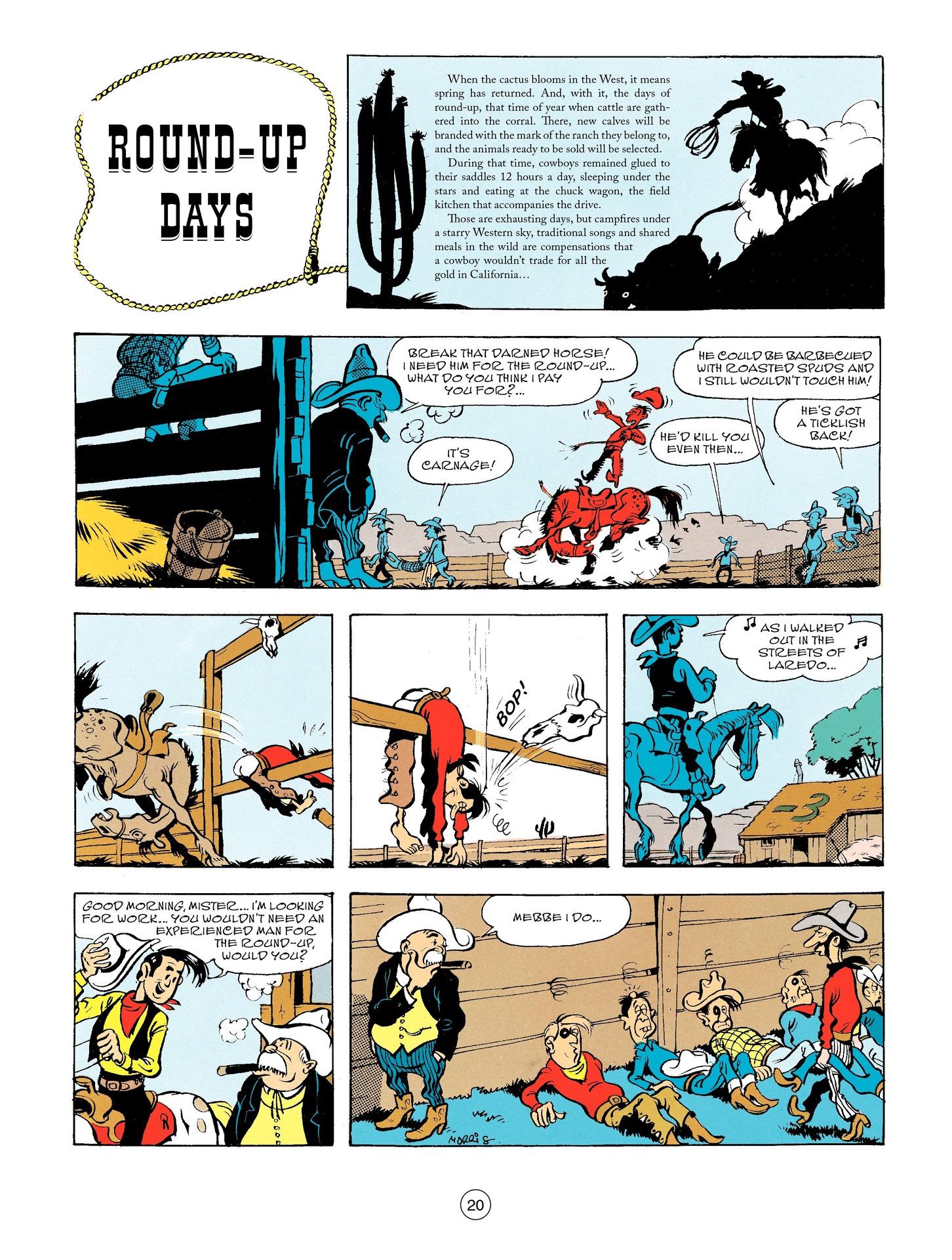 Read online A Lucky Luke Adventure comic -  Issue #56 - 20