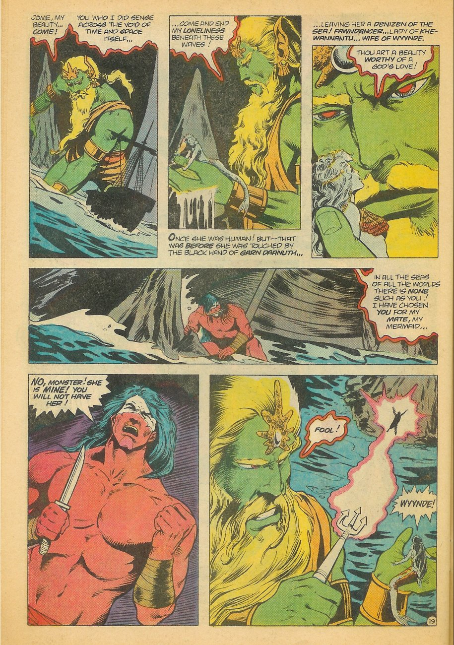 Read online Arion, Lord of Atlantis comic -  Issue #21 - 20
