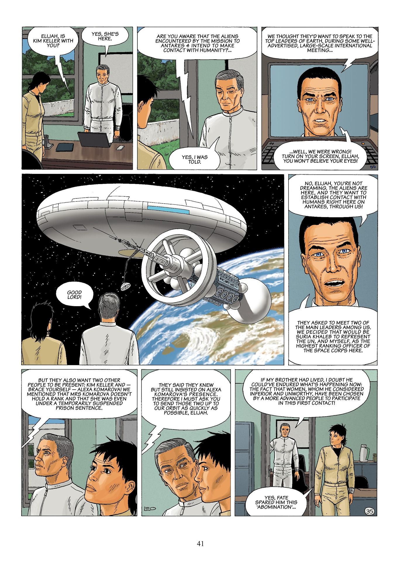 Read online Antares comic -  Issue #6 - 43