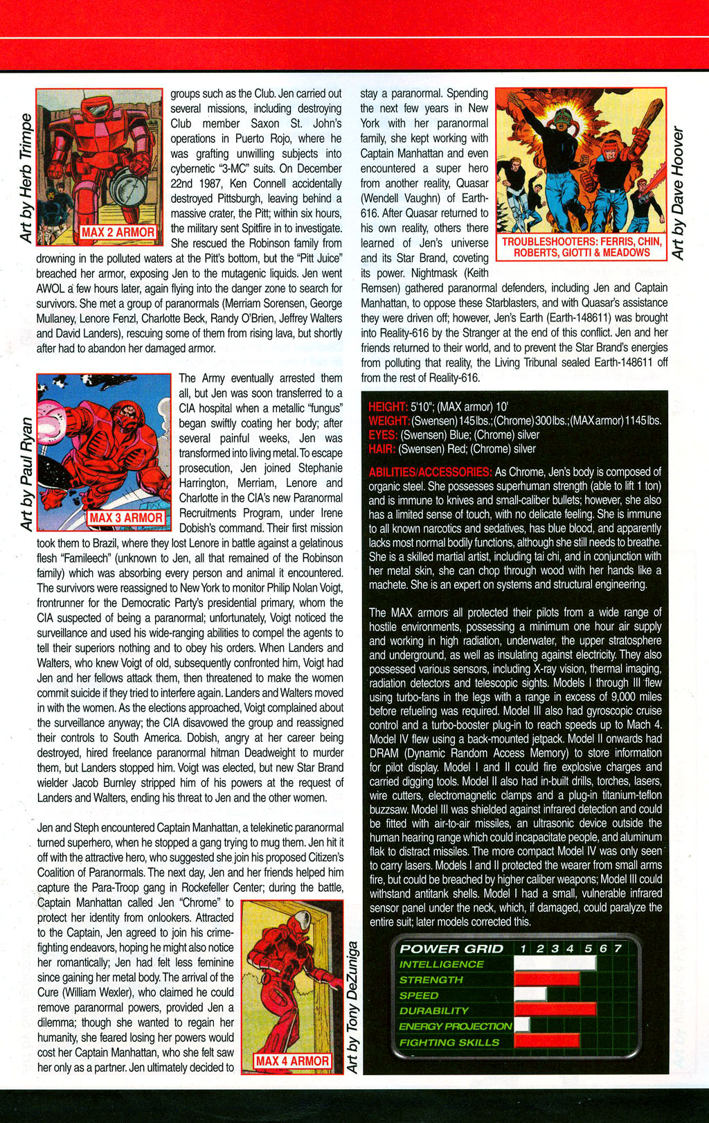 Read online All-New Official Handbook of the Marvel Universe A to Z: Update comic -  Issue #3 - 11