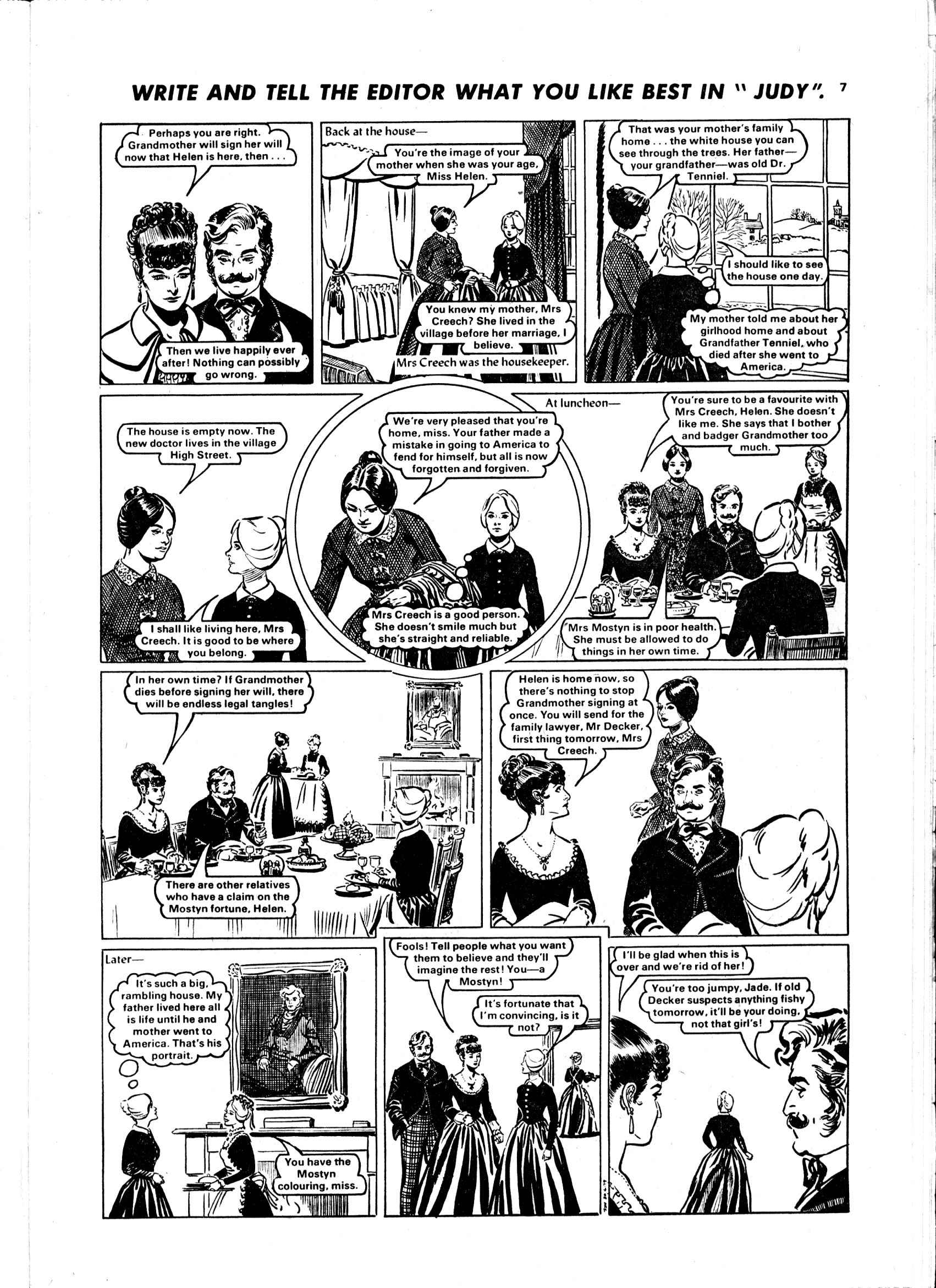 Read online Judy comic -  Issue #16 - 7
