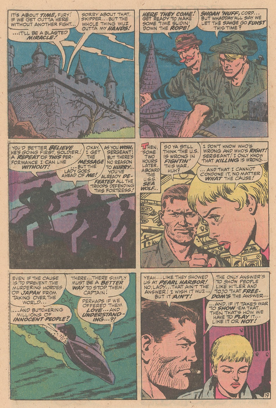 Read online Sgt. Fury comic -  Issue #161 - 28