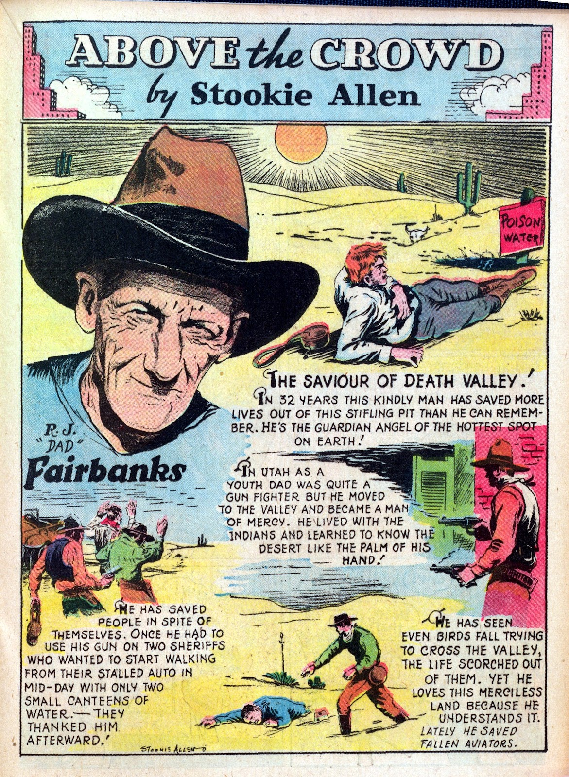Read online Famous Funnies comic -  Issue #27 - 31