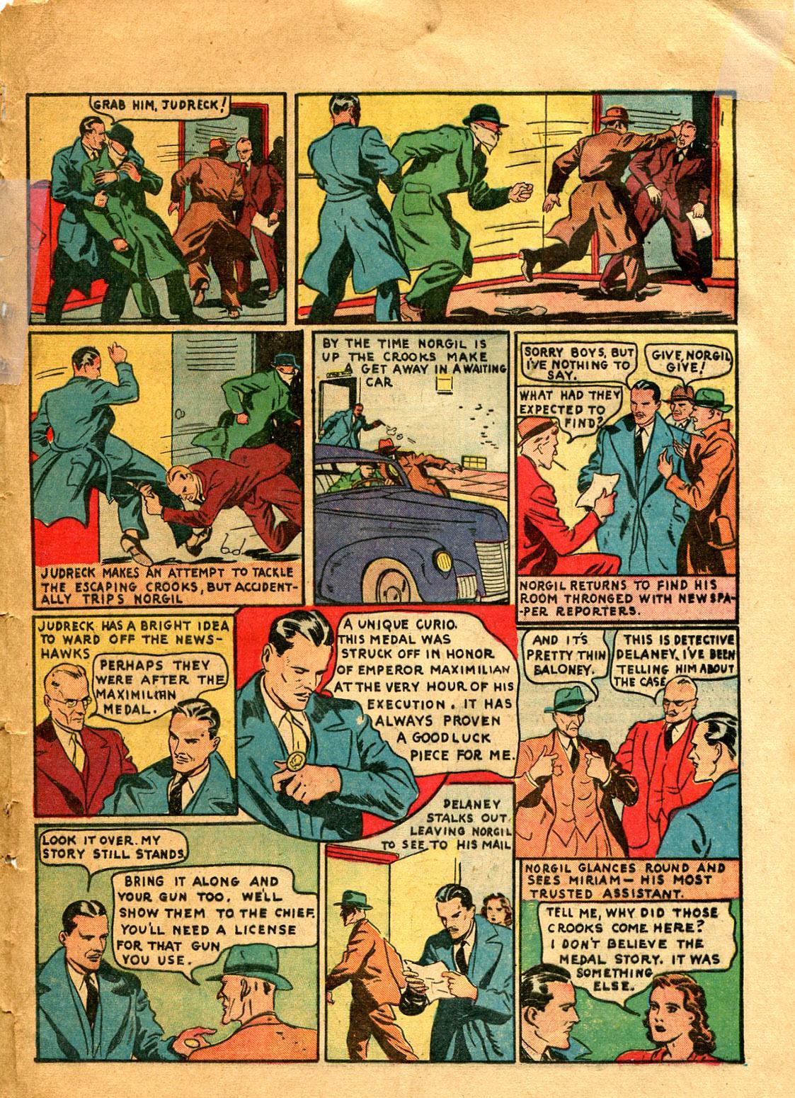 Read online Shadow Comics comic -  Issue #9 - 49