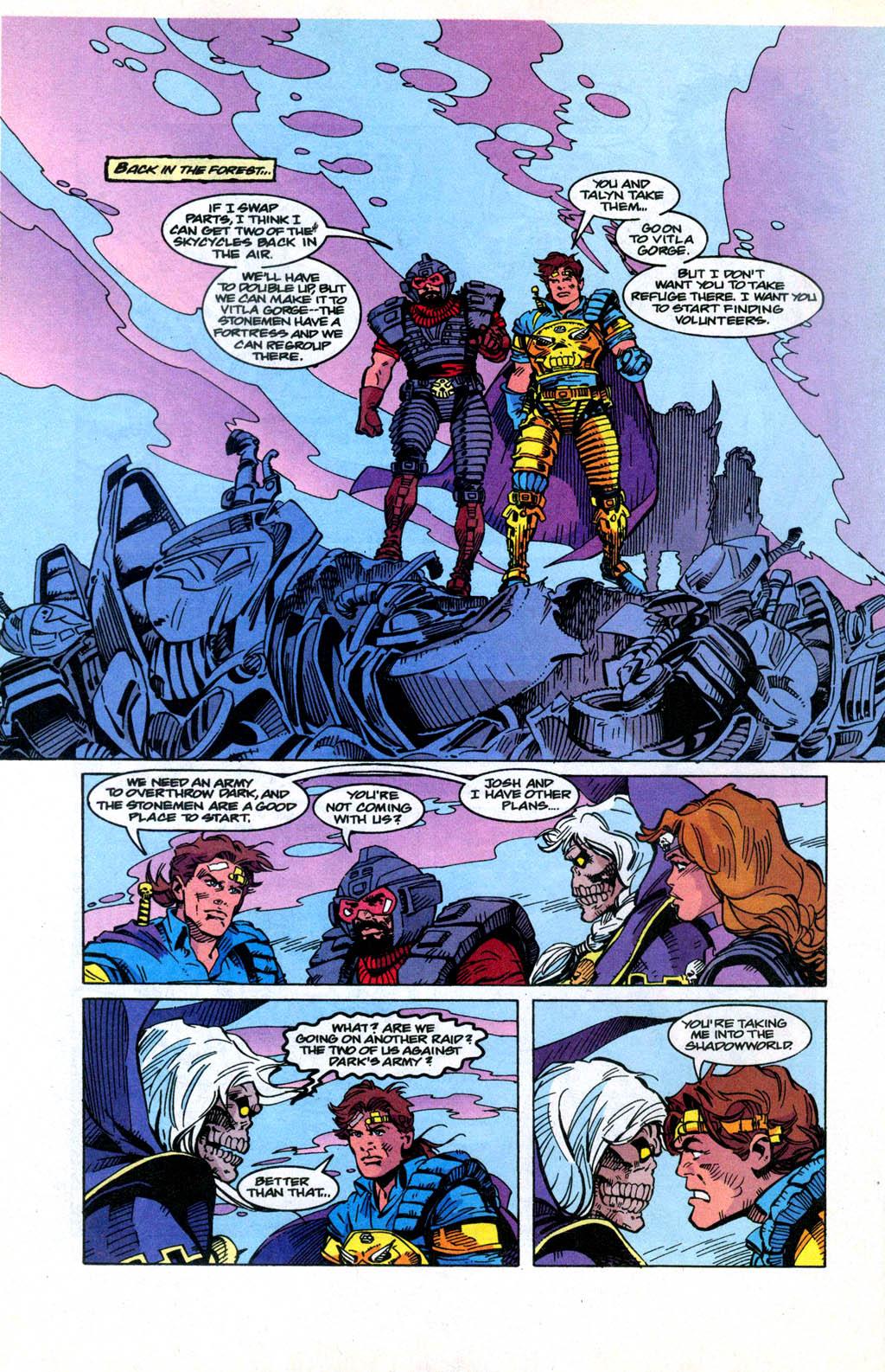 Skeleton Warriors Issue #3 #3 - English 11