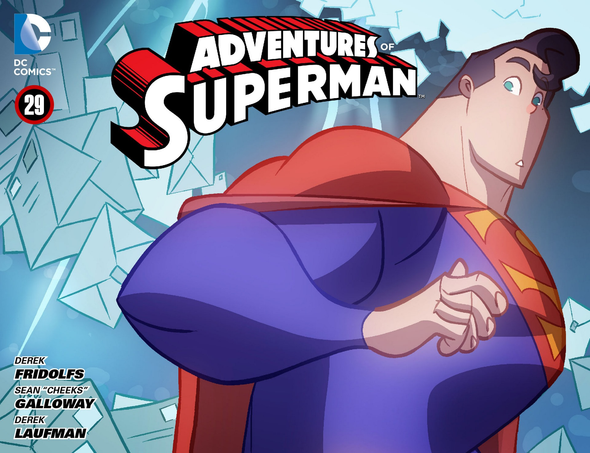 Adventures of Superman [I] 29 Page 1