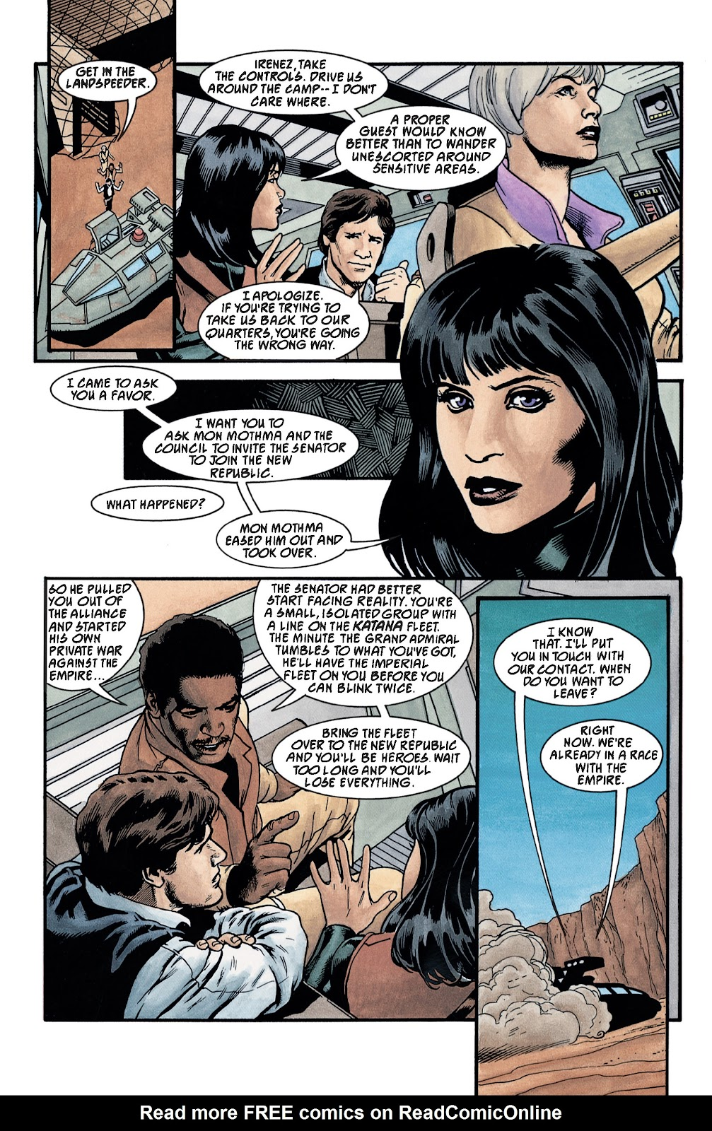 Read online Star Wars Legends: The New Republic - Epic Collection comic -  Issue # TPB 4 (Part 3) - 22