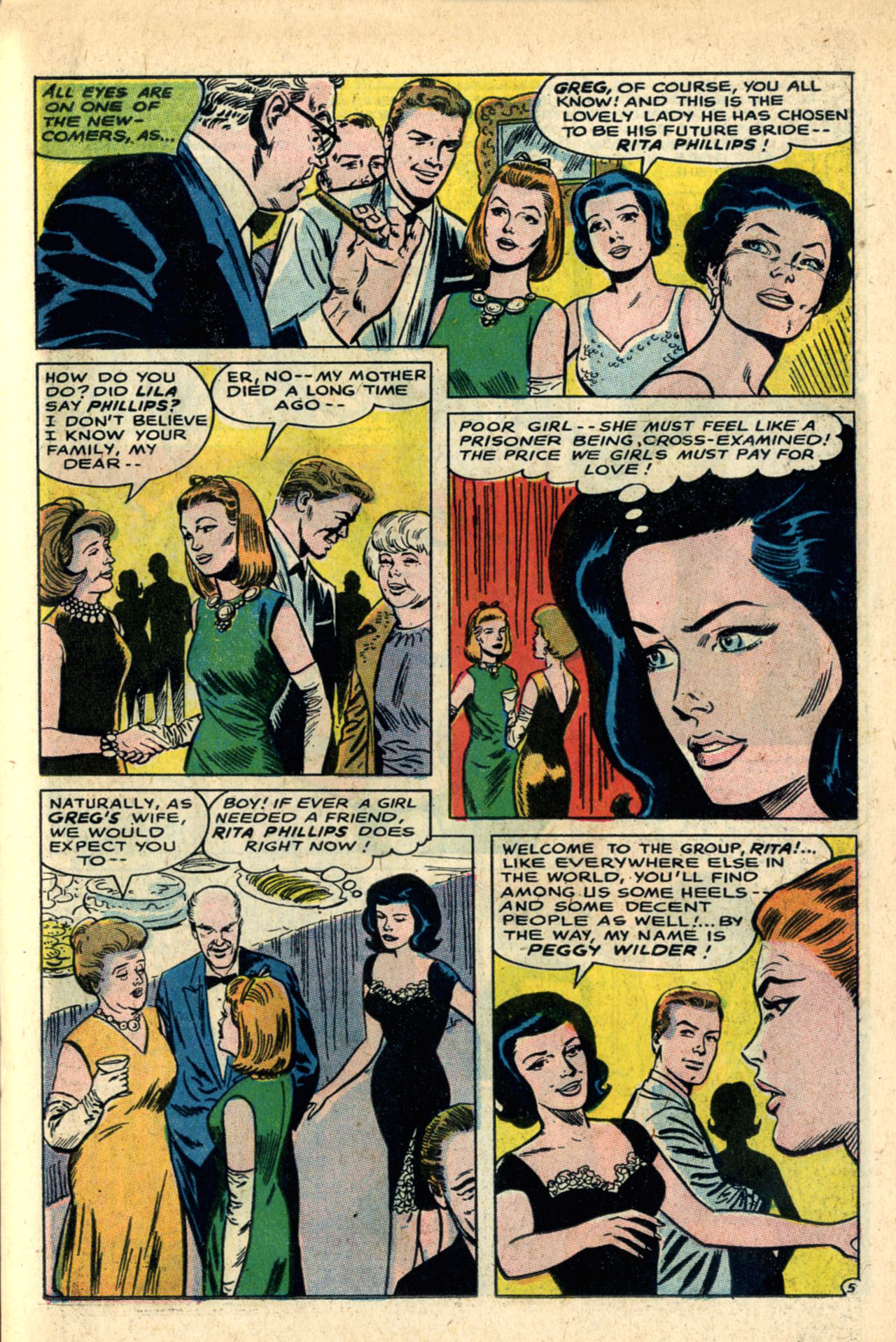 Read online Secret Hearts comic -  Issue #120 - 23