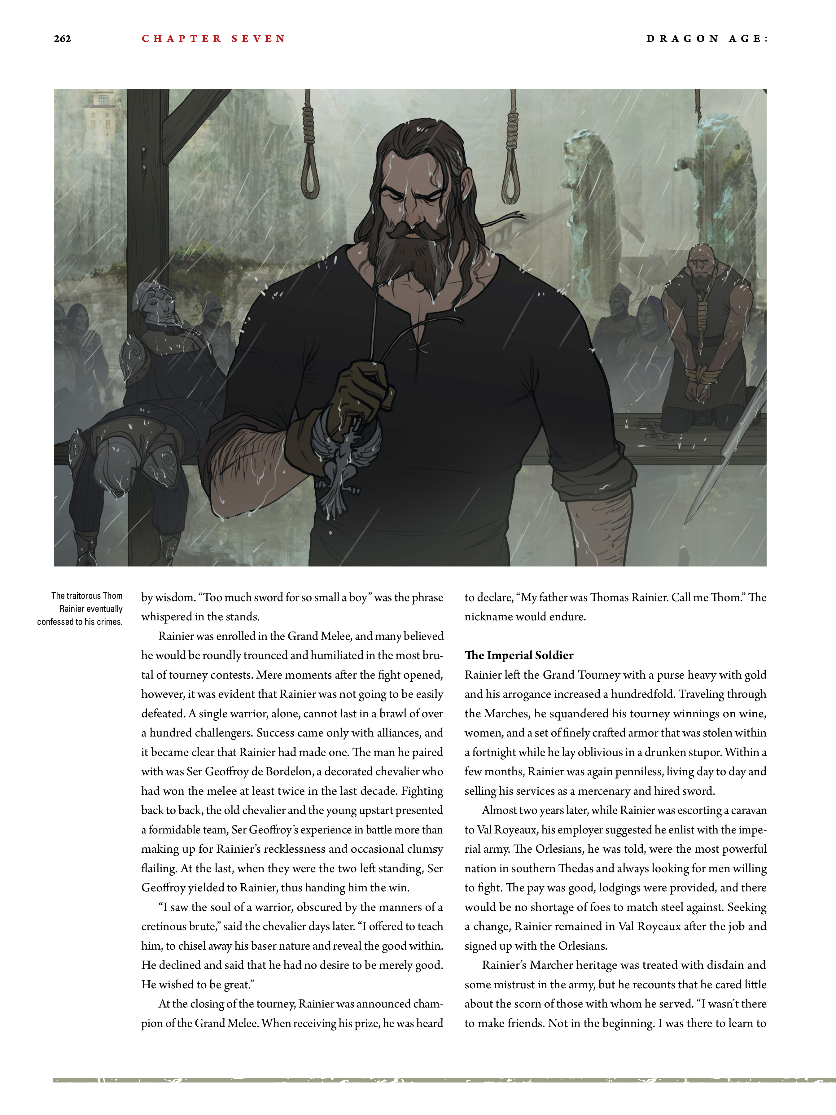Read online Dragon Age: The World of Thedas comic -  Issue # TPB 2 - 255
