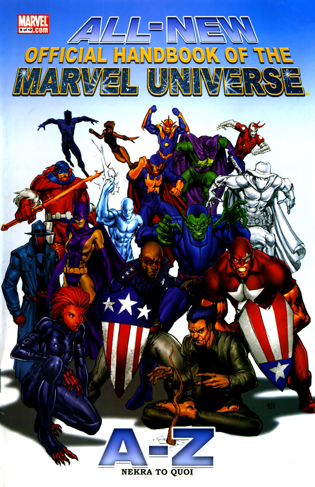 Read online All-New Official Handbook of the Marvel Universe A to Z comic -  Issue #8 - 1