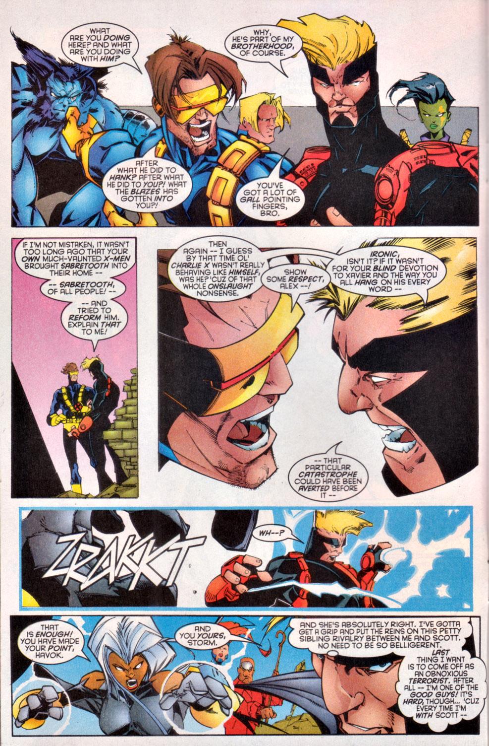 Read online Uncanny X-Men (1963) comic -  Issue # _Annual 1997 - 14