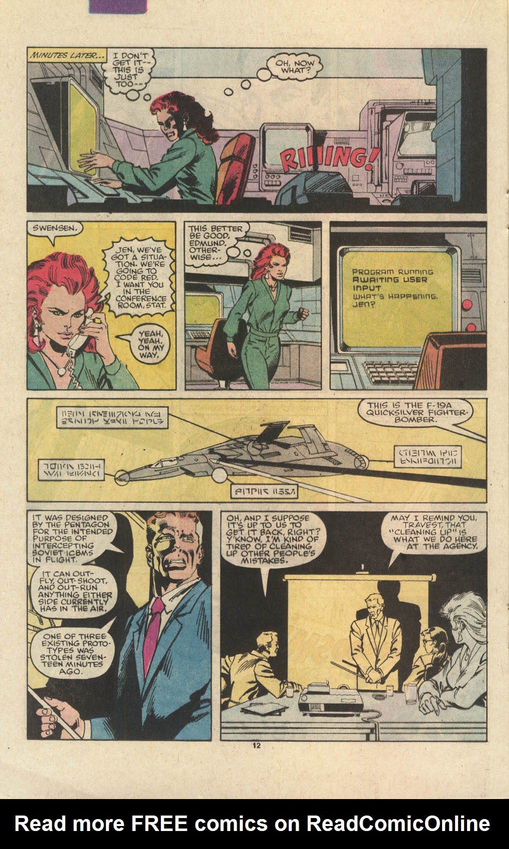 Read online Codename: Spitfire comic -  Issue #12 - 13