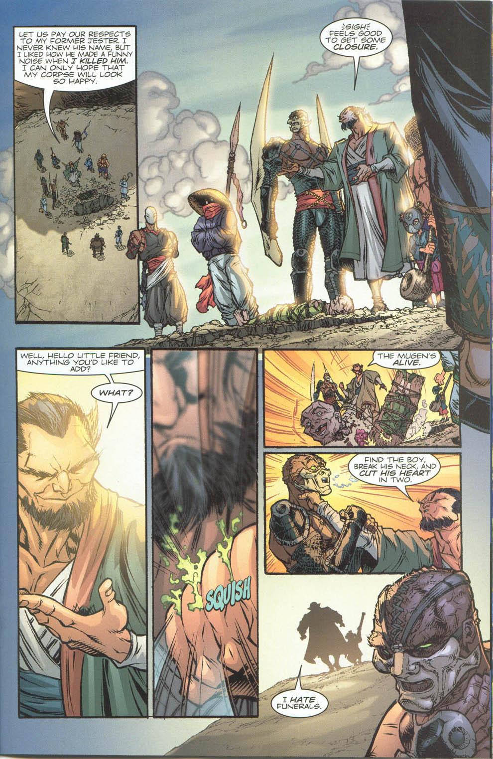 Read online Ninja Boy comic -  Issue #4 - 13