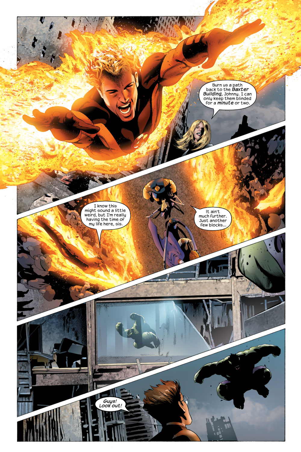 Read online Ultimate Fantastic Four (2004) comic -  Issue #23 - 16