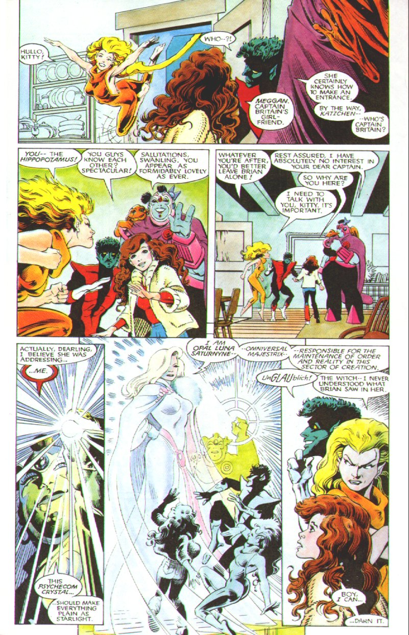 Read online Excalibur: The Sword is Drawn comic -  Issue # Full - 20