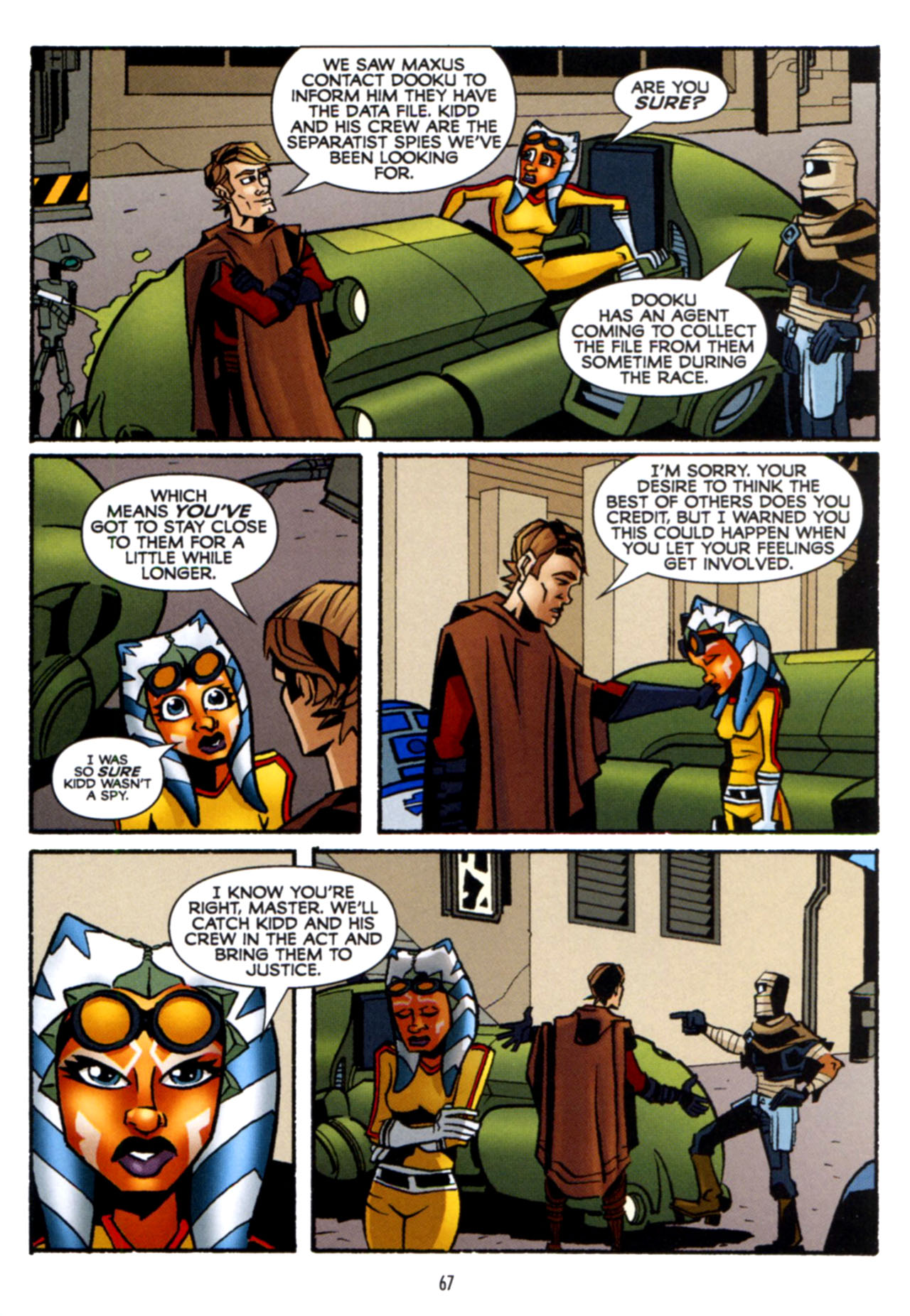 Read online Star Wars: The Clone Wars - Crash Course comic -  Issue # Full - 68