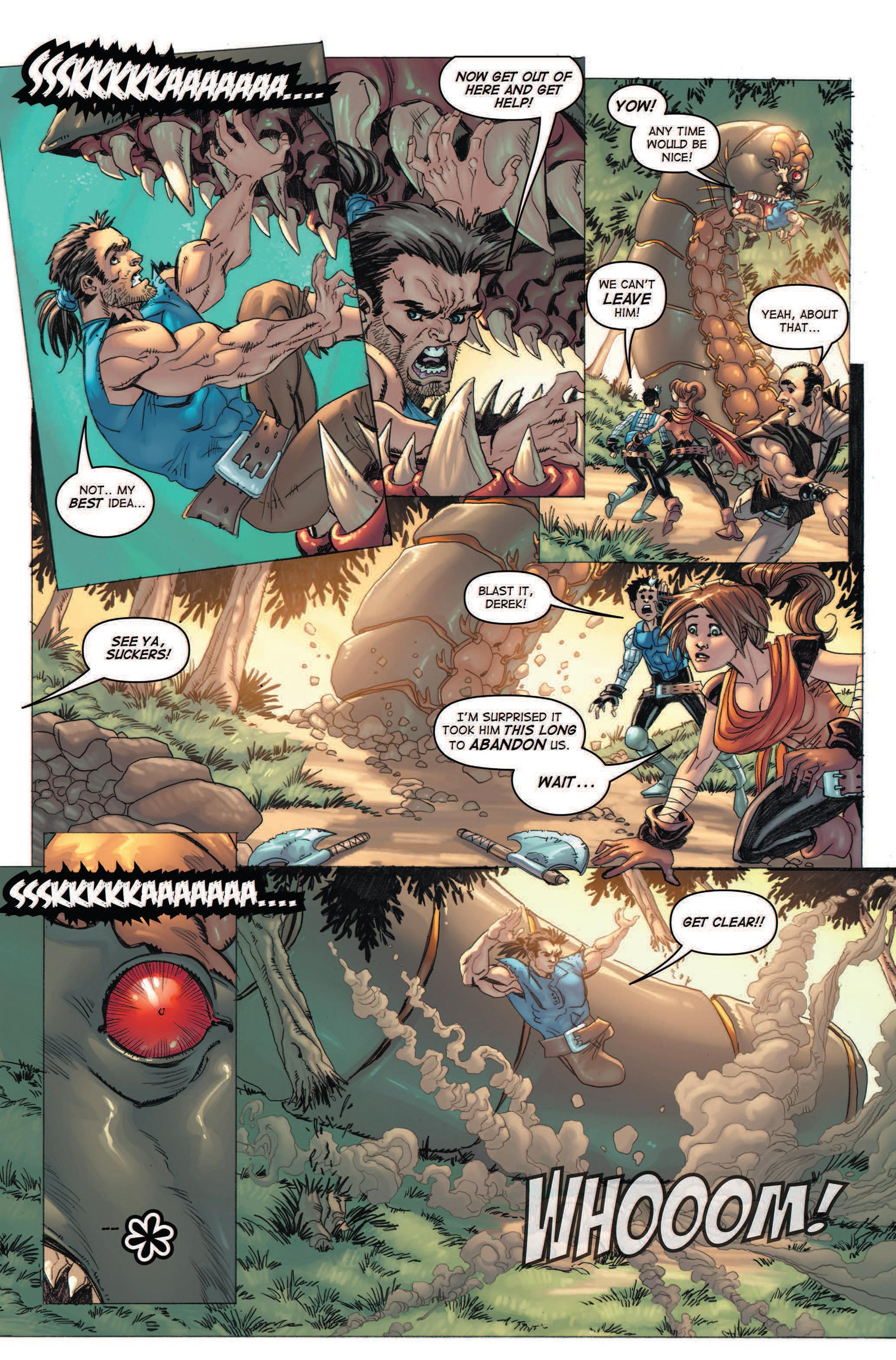 Read online Skyward comic -  Issue #2 - 29