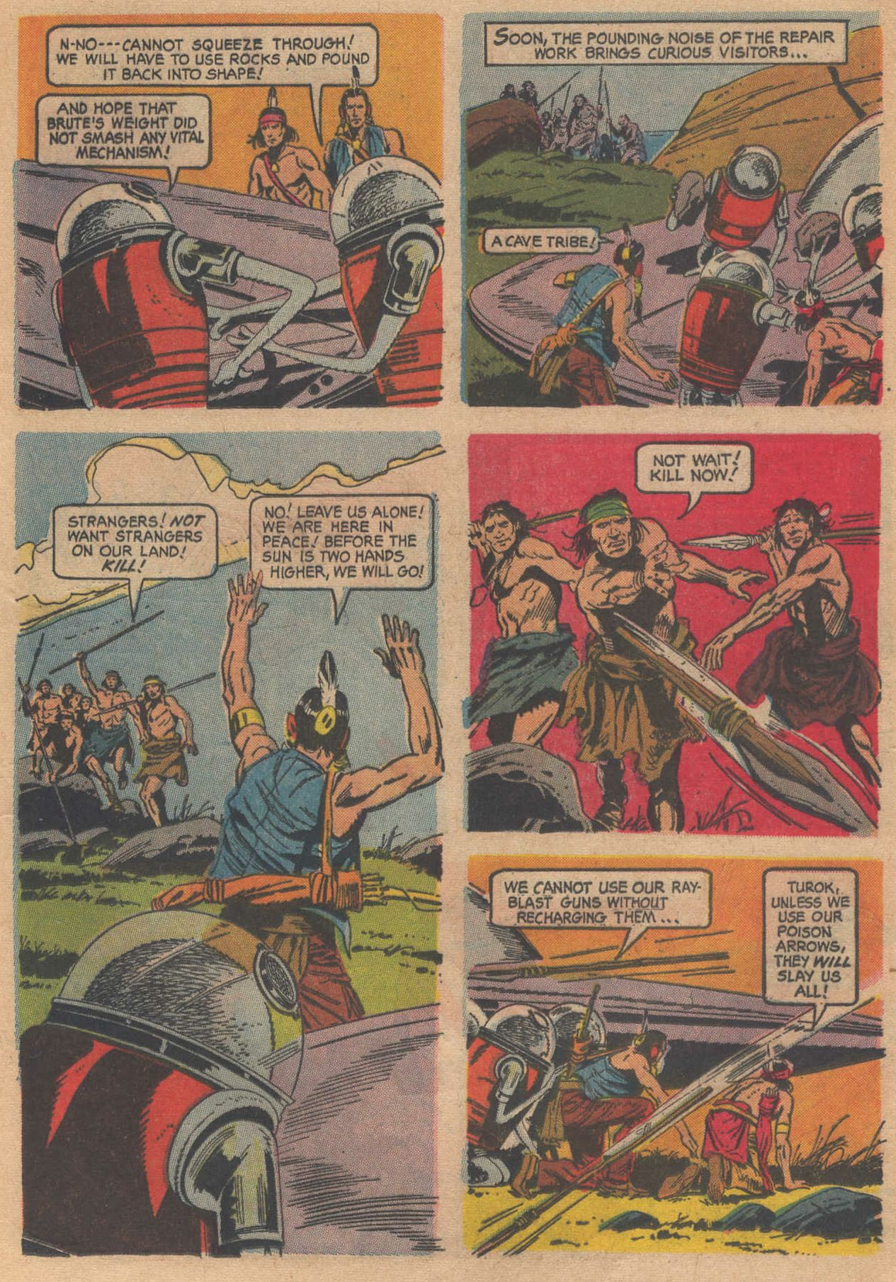 Read online Turok, Son of Stone comic -  Issue #58 - 13