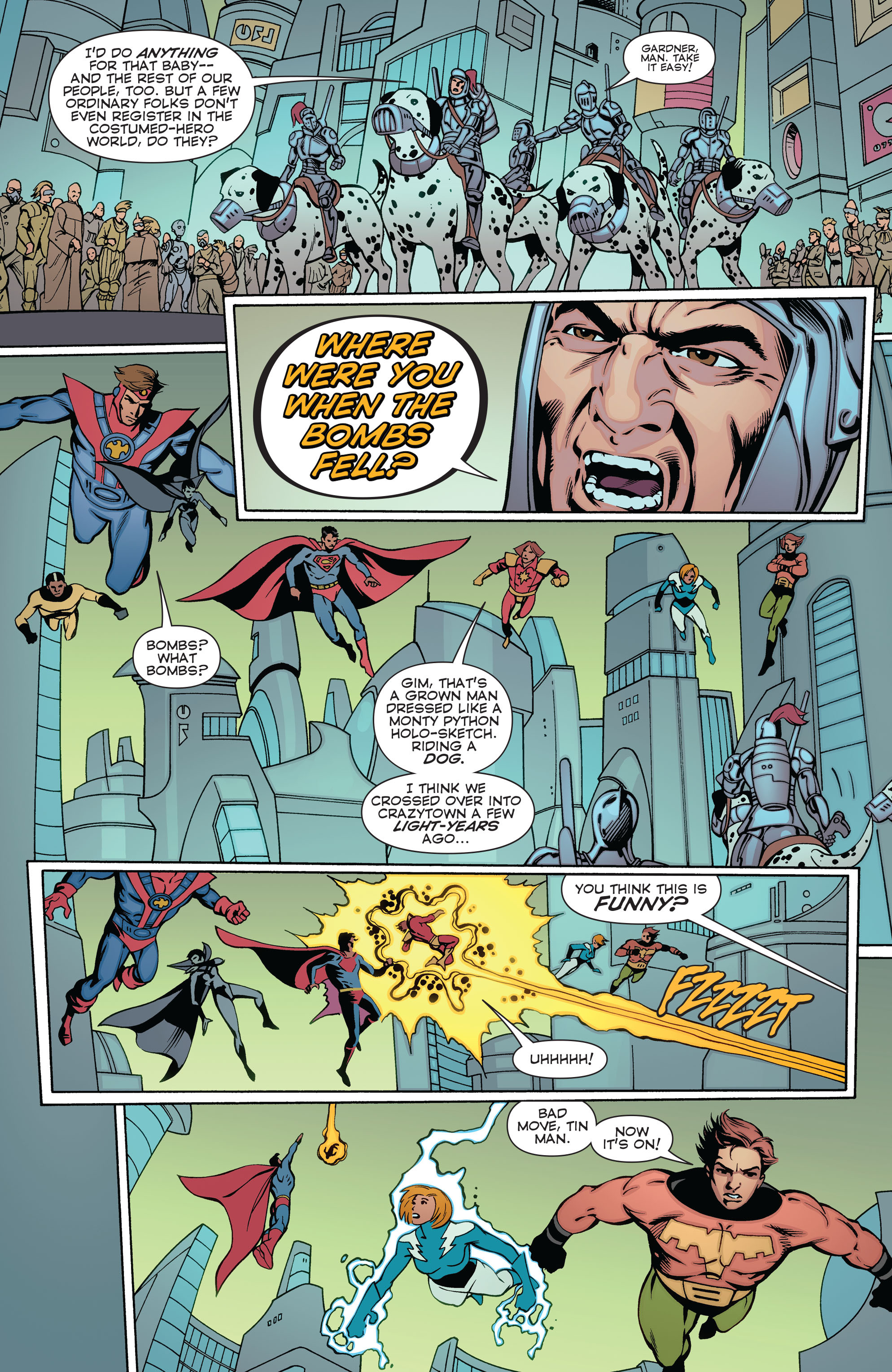 Read online Convergence Superboy and the Legion of Super-Heroes comic -  Issue #2 - 7