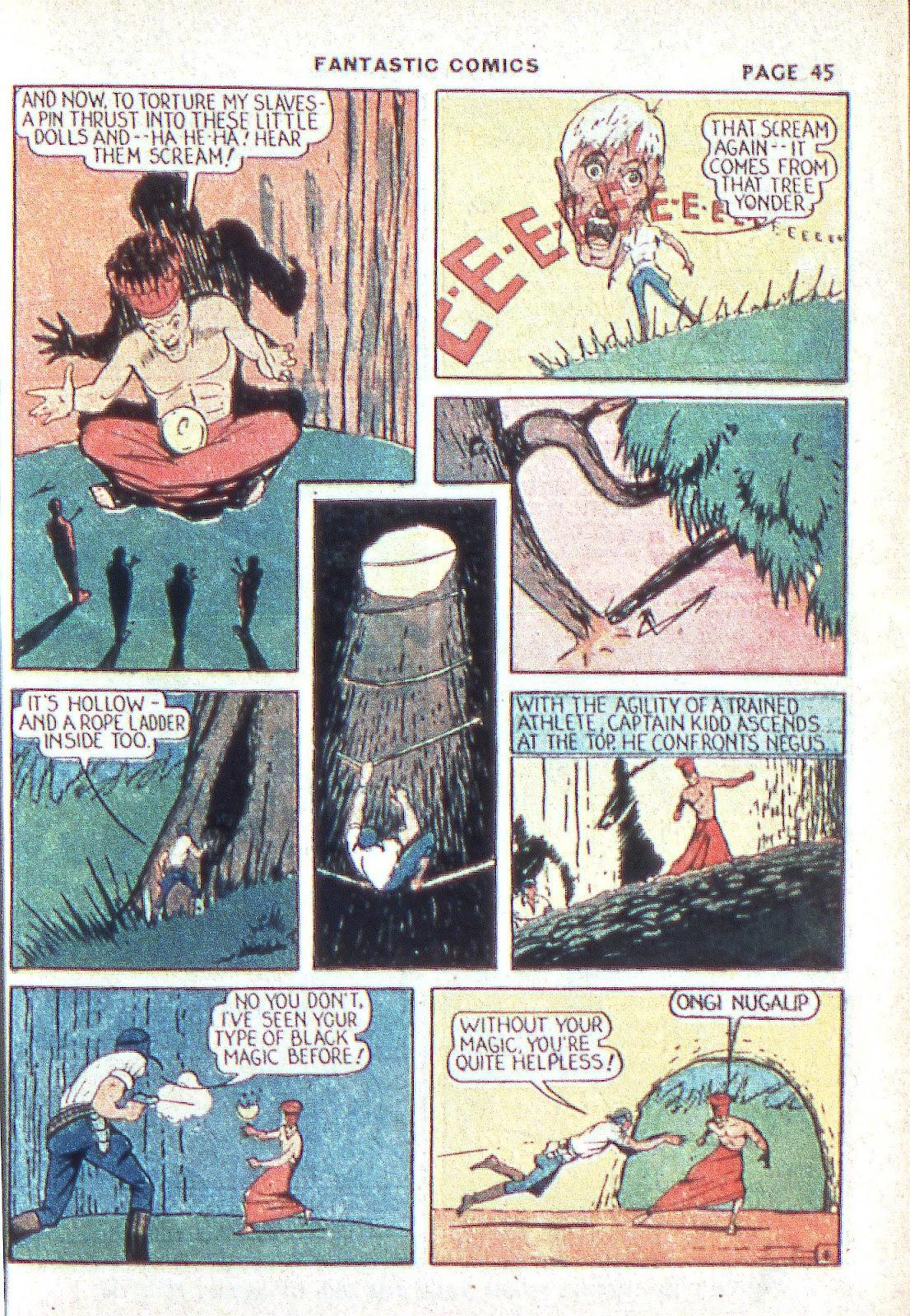 Read online Fantastic Comics comic -  Issue #3 - 47