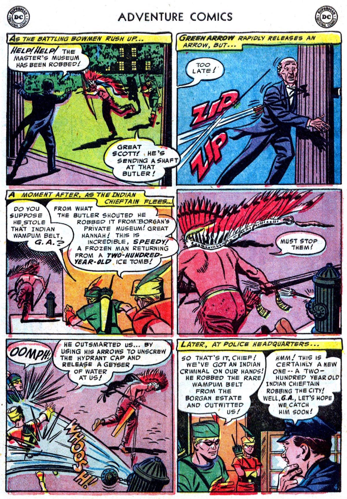Read online Adventure Comics (1938) comic -  Issue #199 - 30