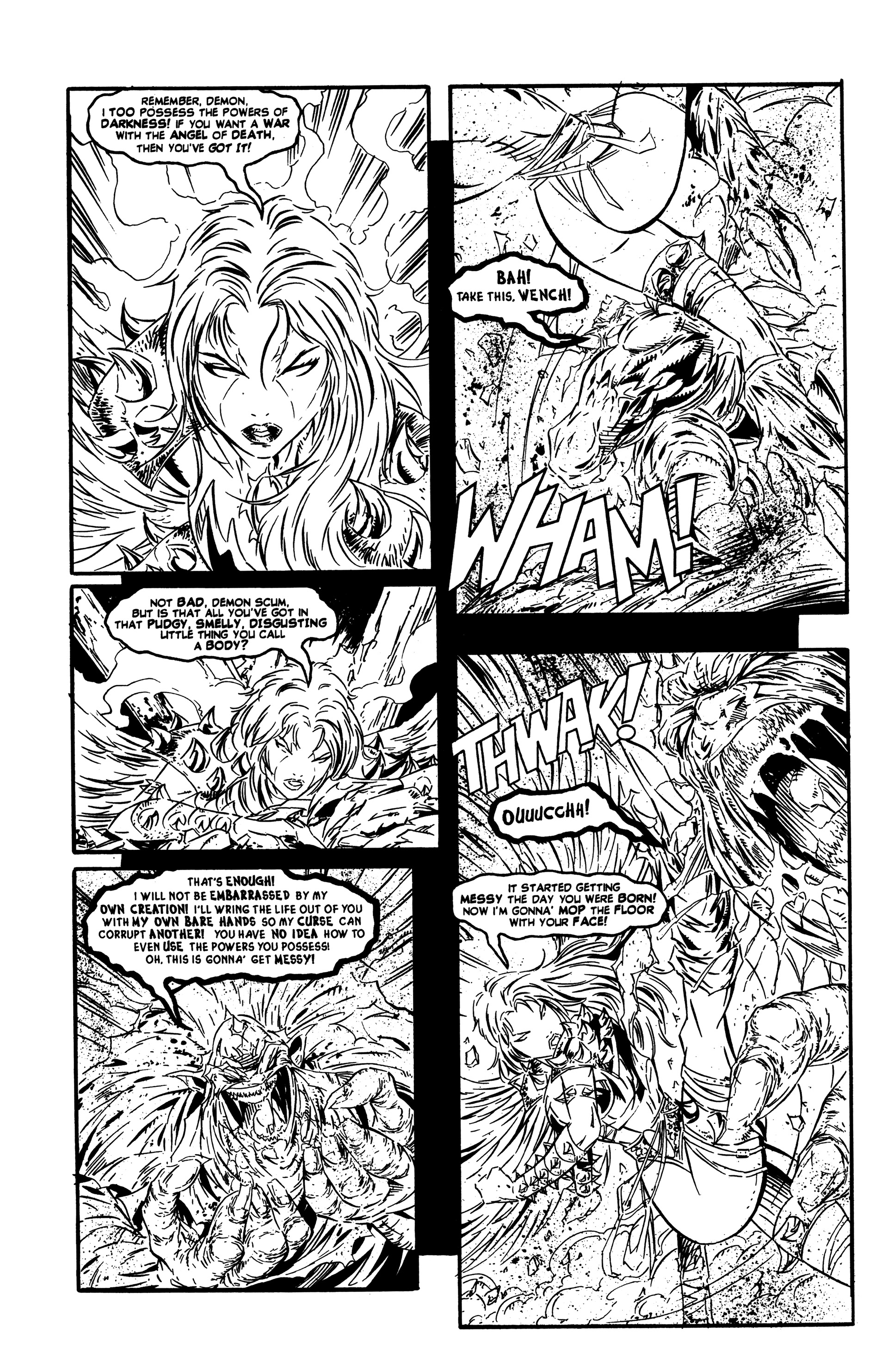 Read online DeathAngel comic -  Issue # Full - 18