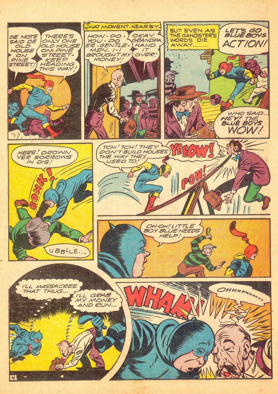 Read online Sensation (Mystery) Comics comic -  Issue #25 - 28