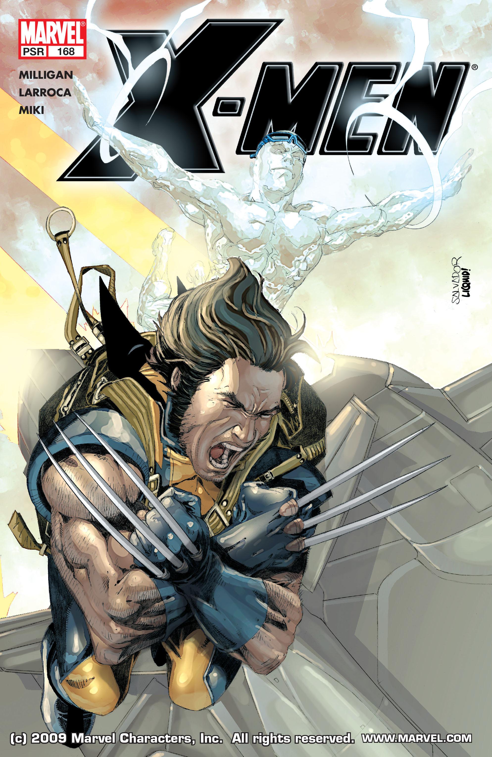 X-Men (1991) 168 Page 0