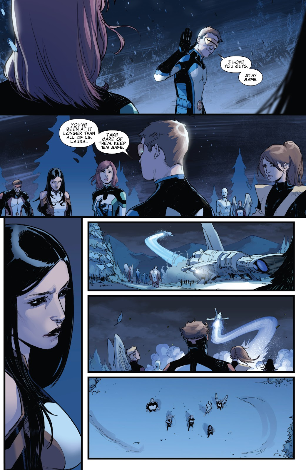 Guardians of the Galaxy/All-New X-Men: The Trial of Jean Grey issue TPB - Page 110