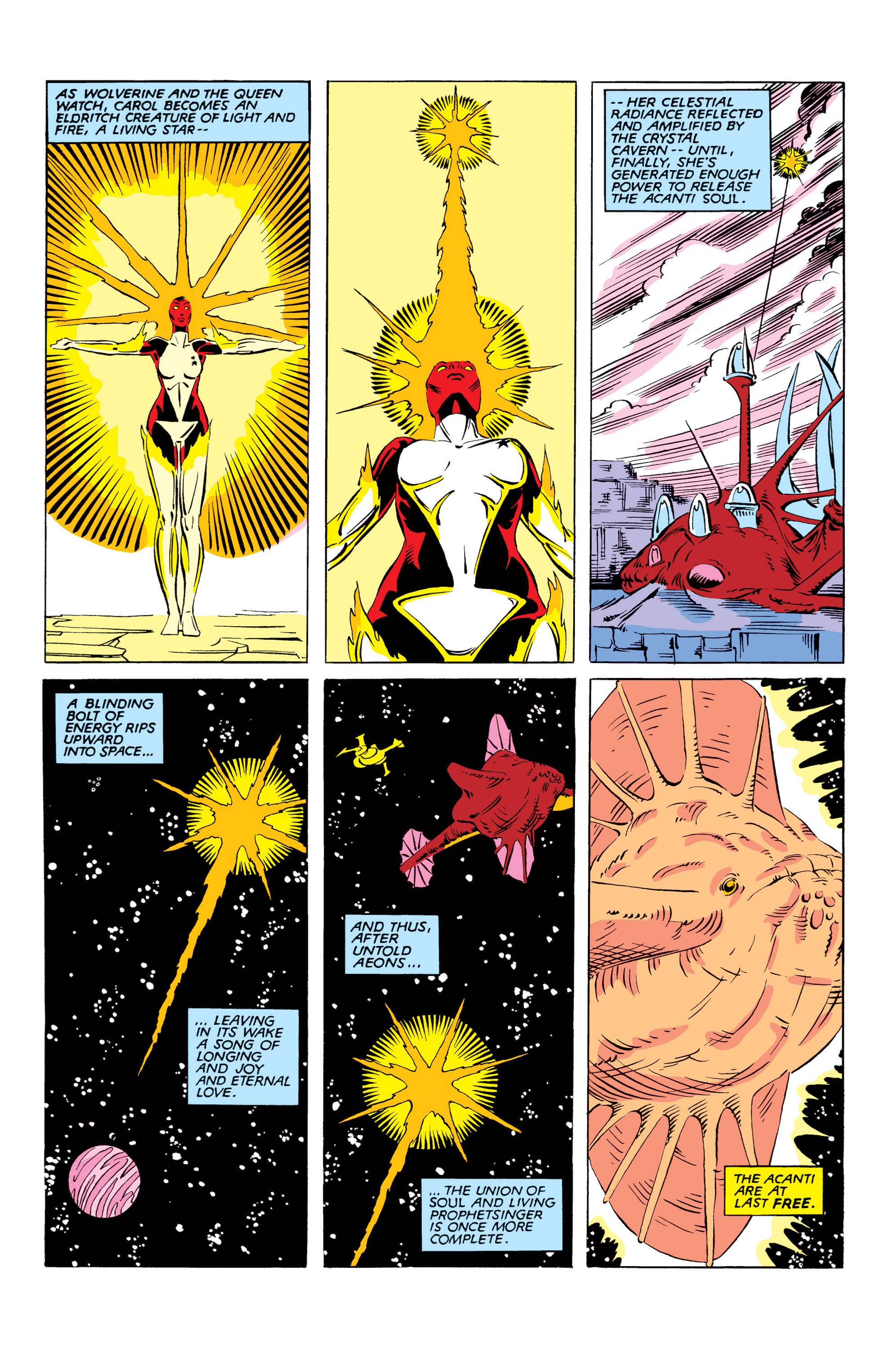 Read online Uncanny X-Men (1963) comic -  Issue #166 - 35