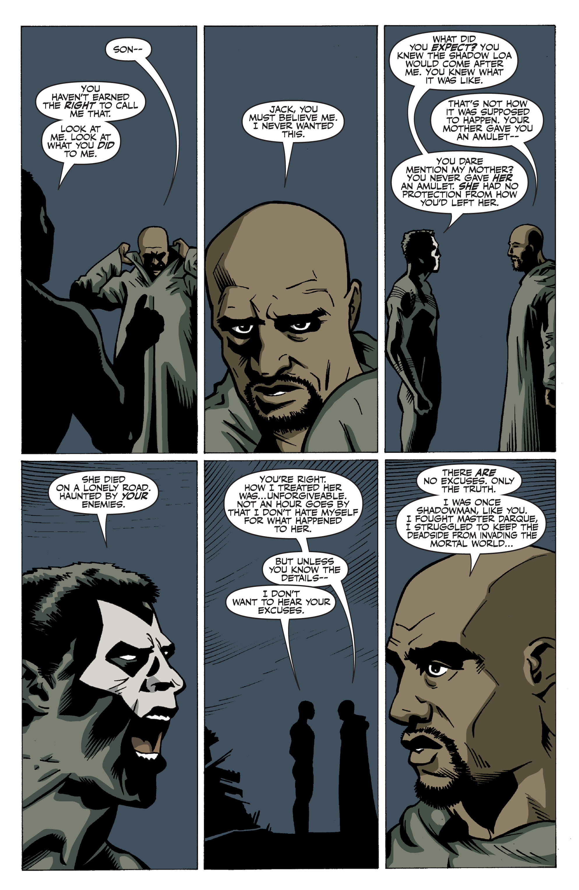 Read online Shadowman: End Times comic -  Issue #3 - 14