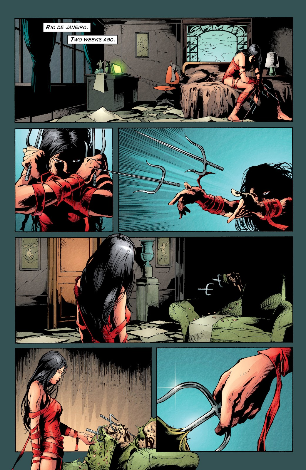 Read online Elektra (2001) comic -  Issue # _TPB Elektra by Greg Rucka Ultimate Collection (Part 2) - 16