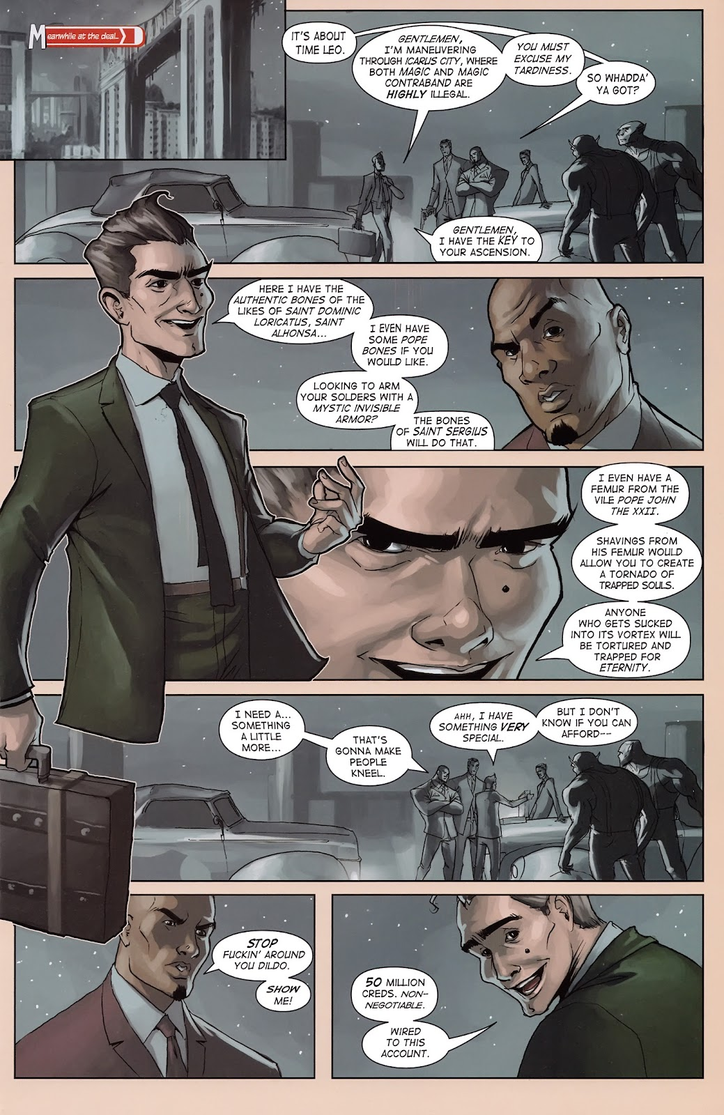 Read online Vescell comic -  Issue #3 - 21