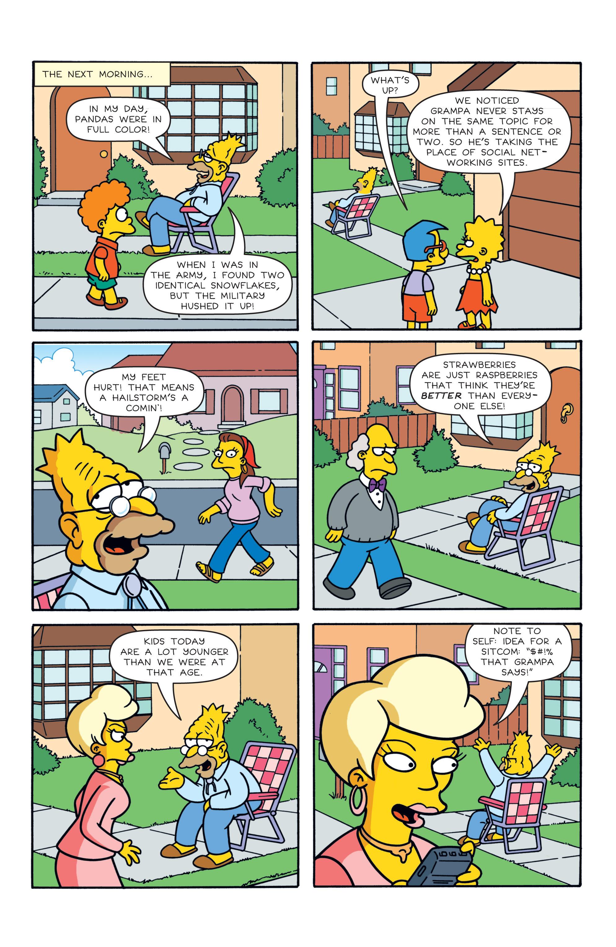 Read online Simpsons Comics comic -  Issue #187 - 14