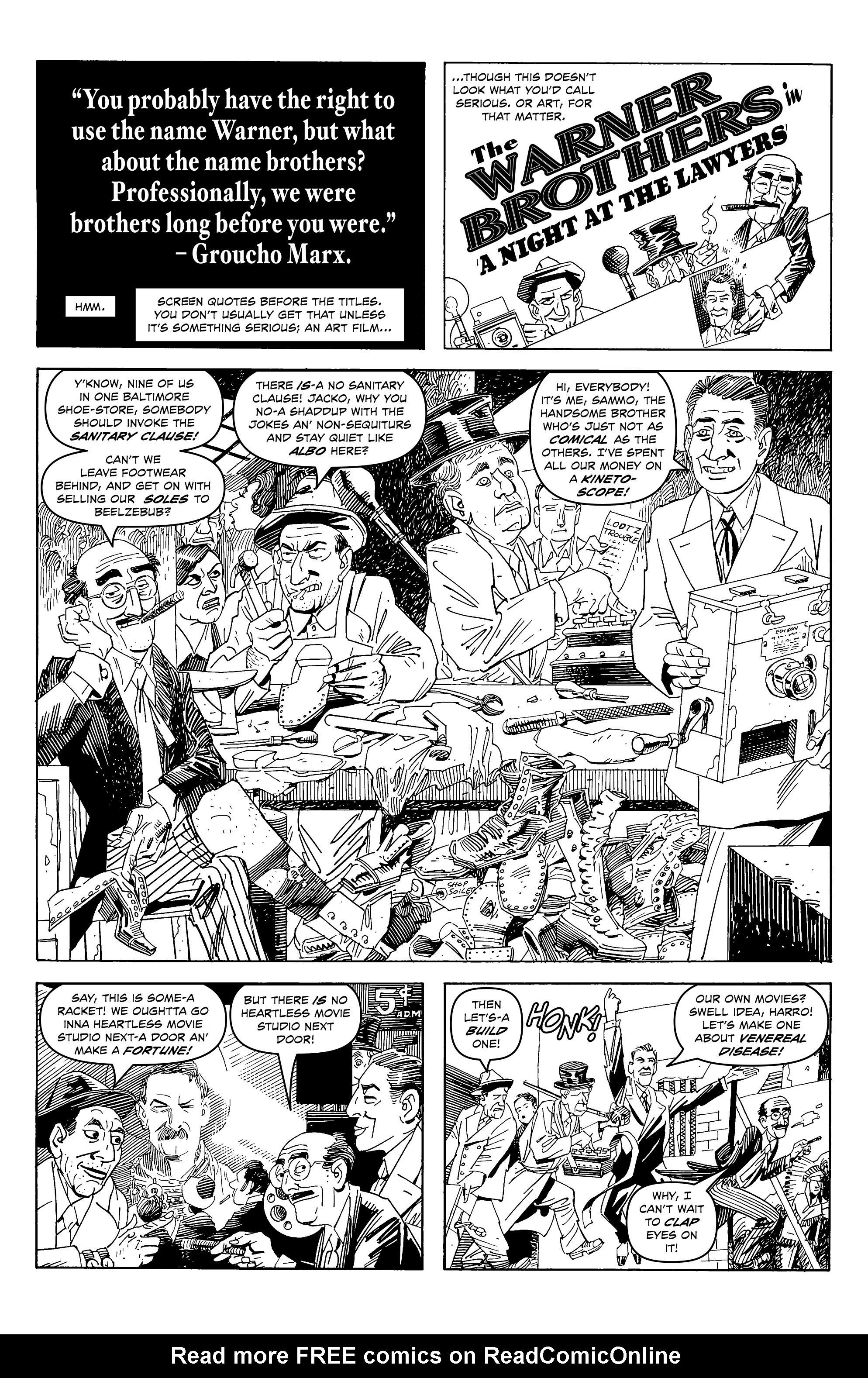 Read online Alan Moore's Cinema Purgatorio comic -  Issue #6 - 6