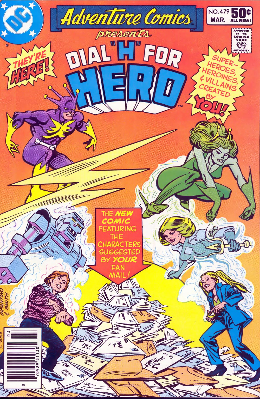 Read online Adventure Comics (1938) comic -  Issue #479 - 1