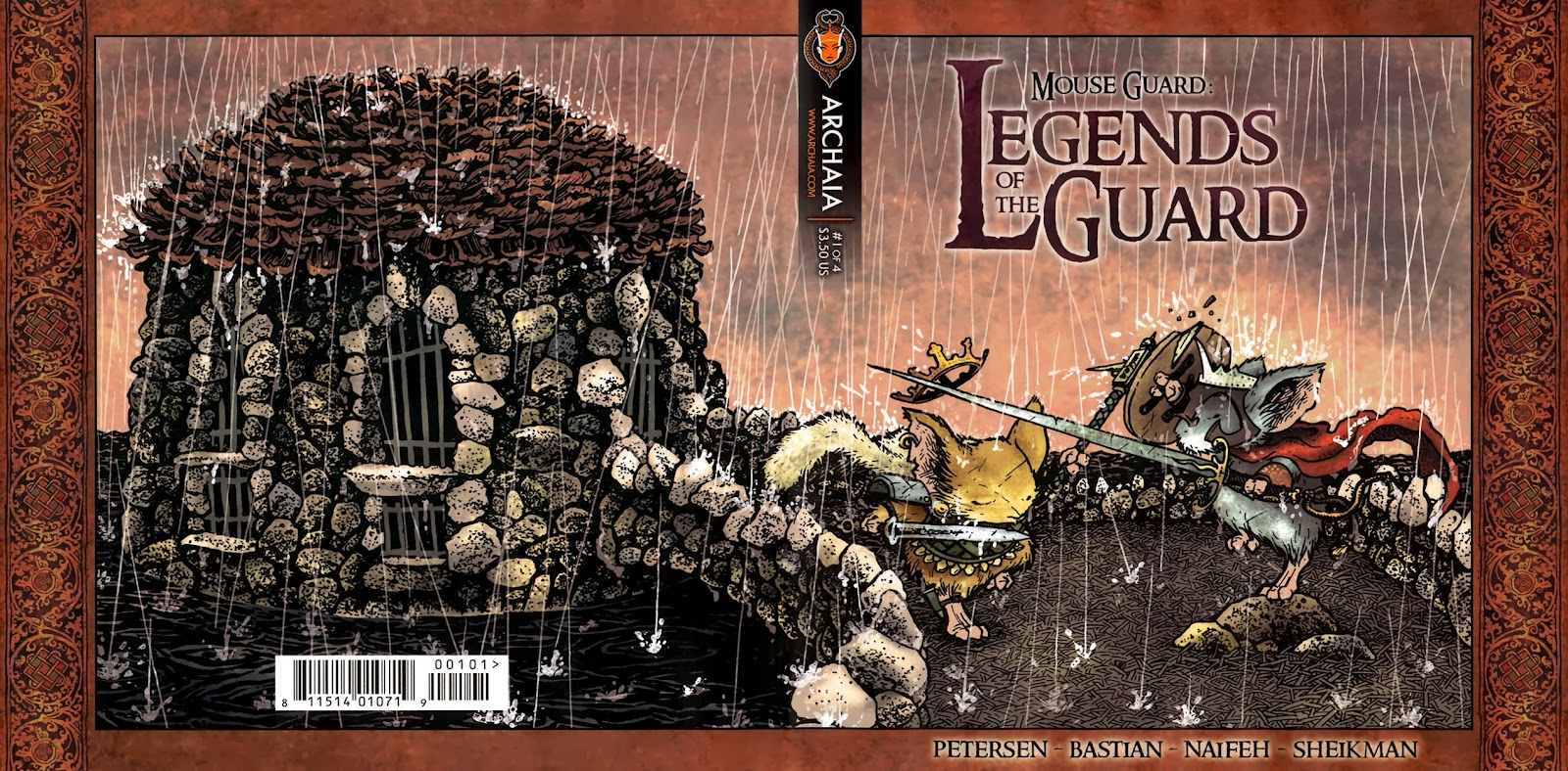 Mouse Guard: Legends of the Guard 1 Page 1