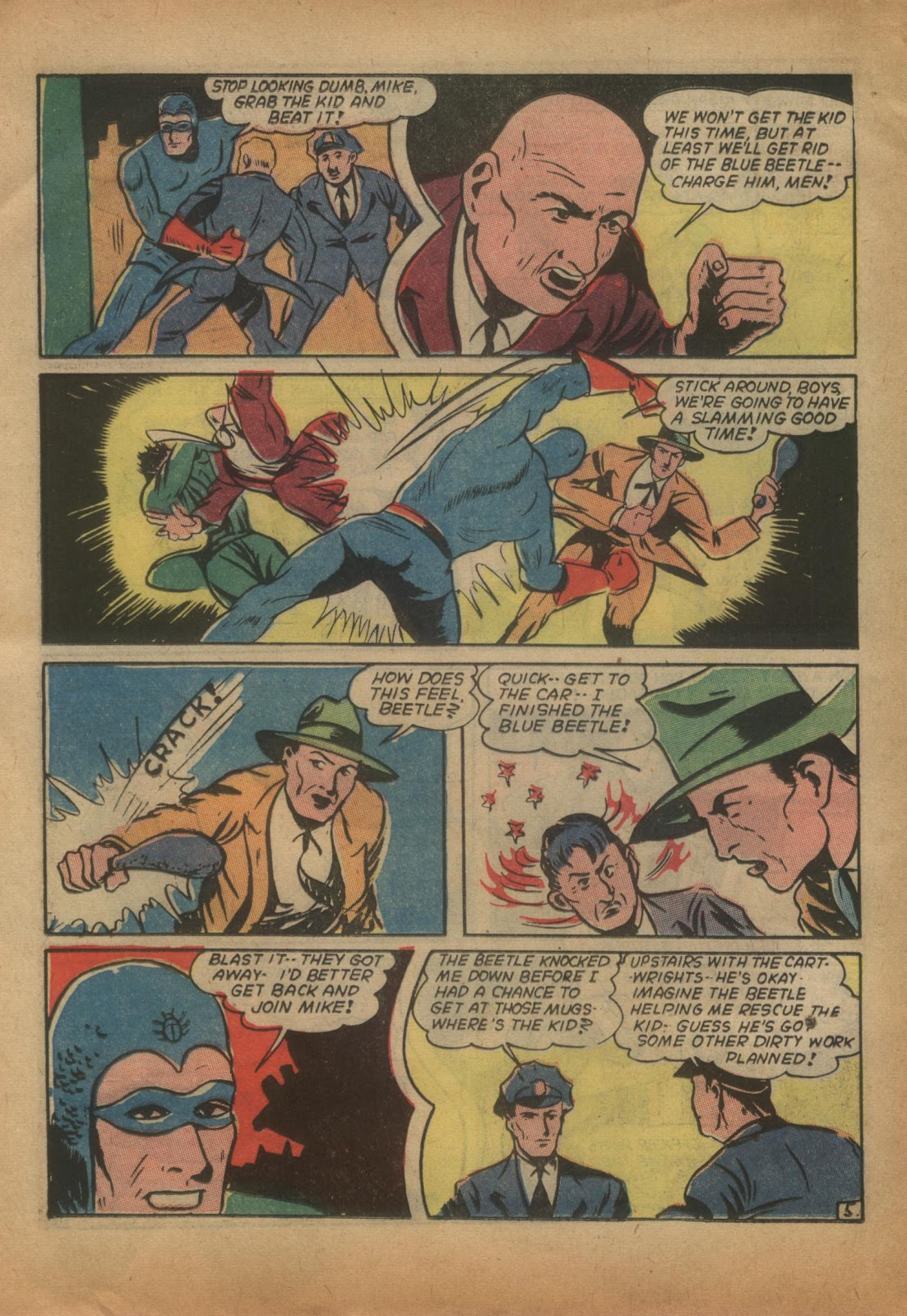 The Blue Beetle issue 15 - Page 24