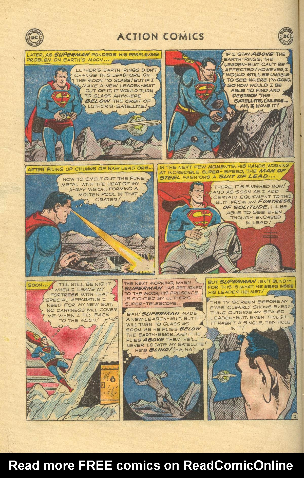 Read online Action Comics (1938) comic -  Issue #249 - 12