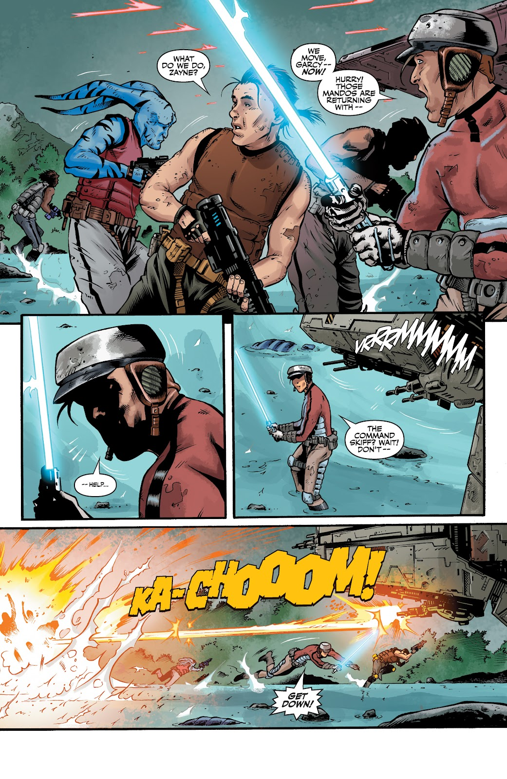 Read online Star Wars Legends: The Old Republic - Epic Collection comic -  Issue # TPB 3 (Part 4) - 6