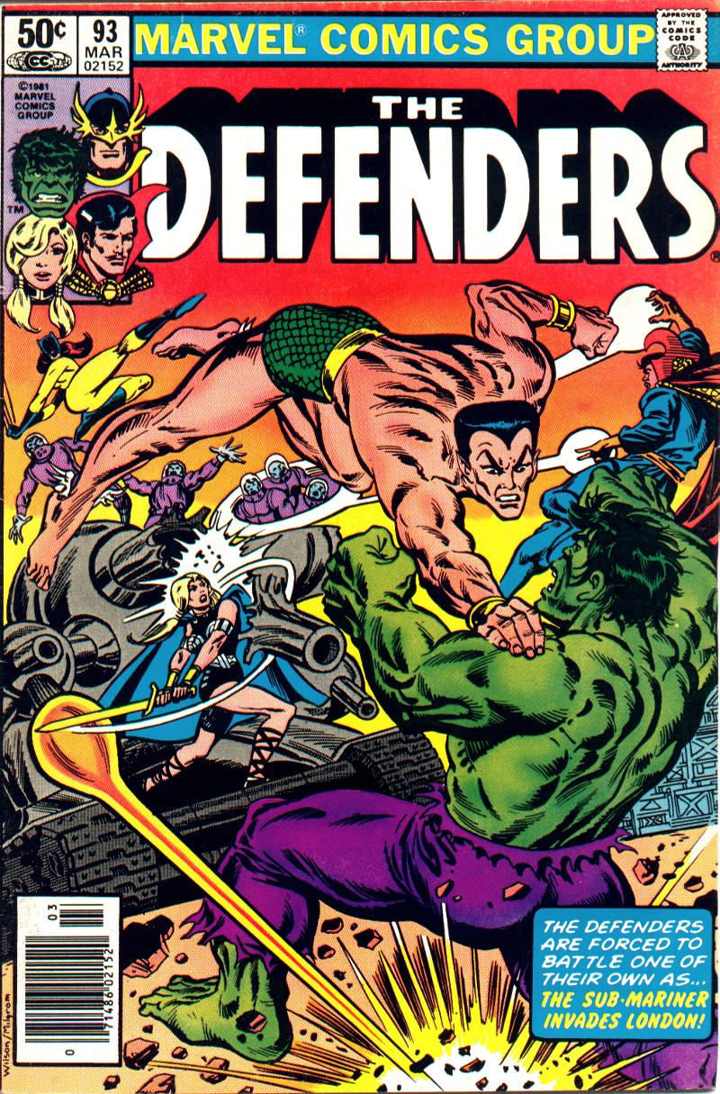 The Defenders (1972) 93 Page 1