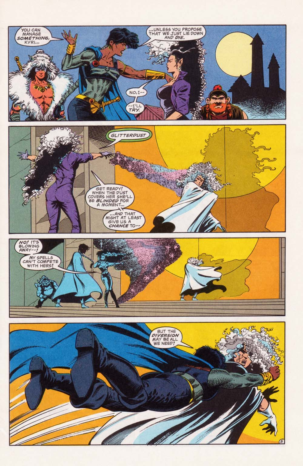 Read online Advanced Dungeons & Dragons comic -  Issue #22 - 5