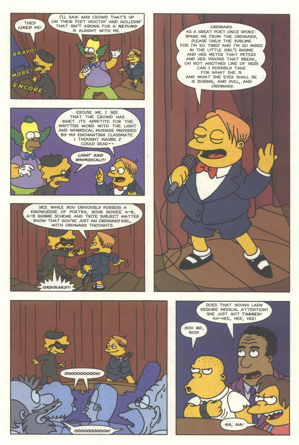 Read online Simpsons Comics comic -  Issue #32 - 12