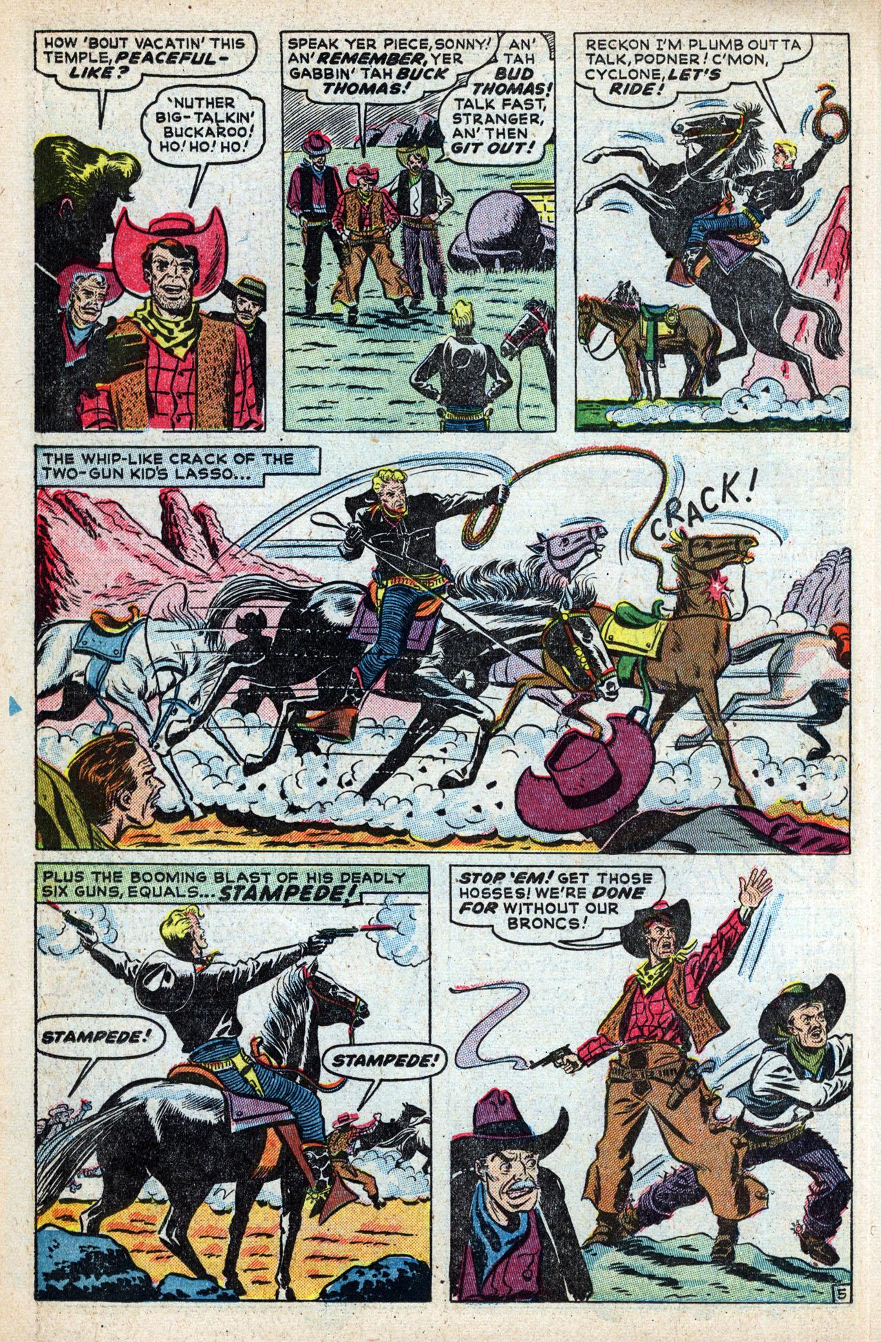 Read online Two-Gun Kid comic -  Issue #4 - 32