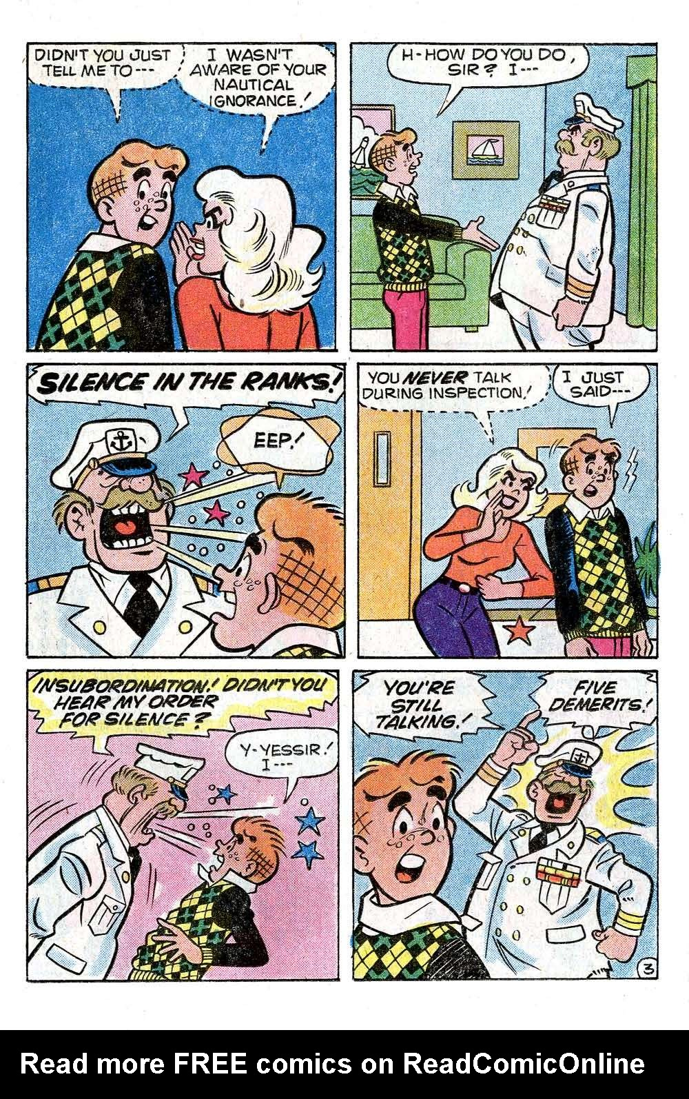 Read online Archie (1960) comic -  Issue #272 - 15