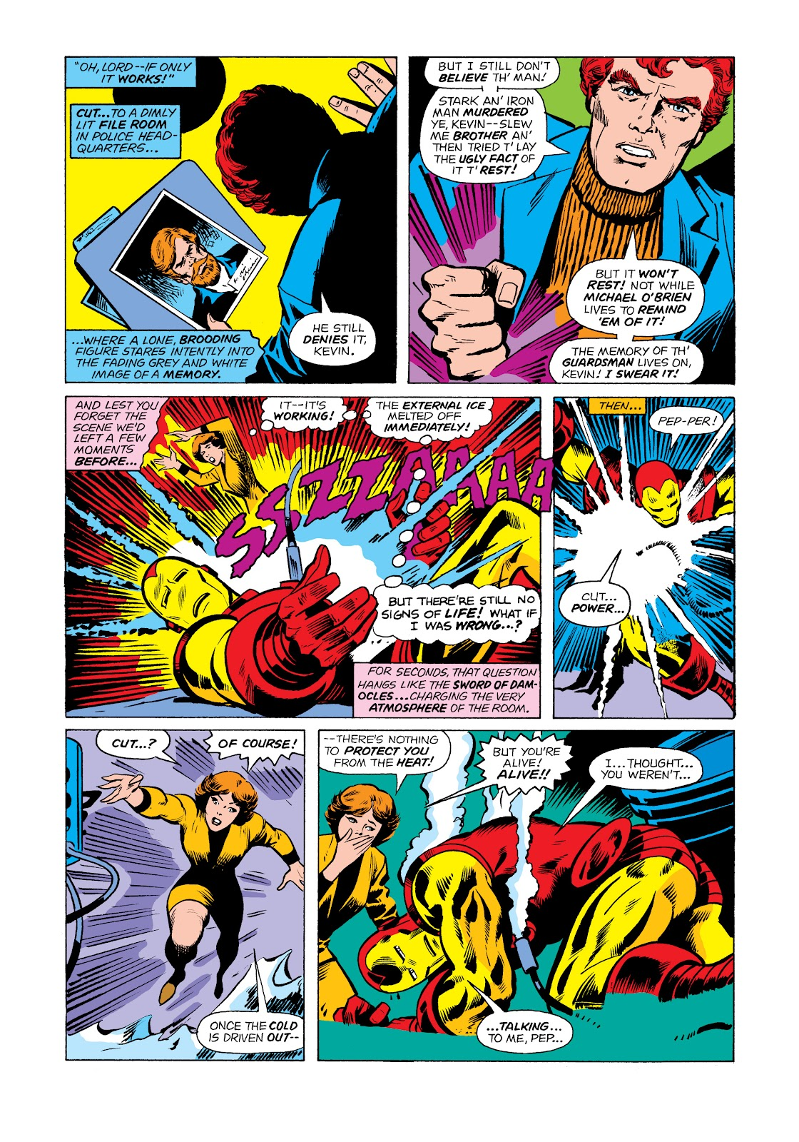 Read online Marvel Masterworks: The Invincible Iron Man comic -  Issue # TPB 11 (Part 2) - 12