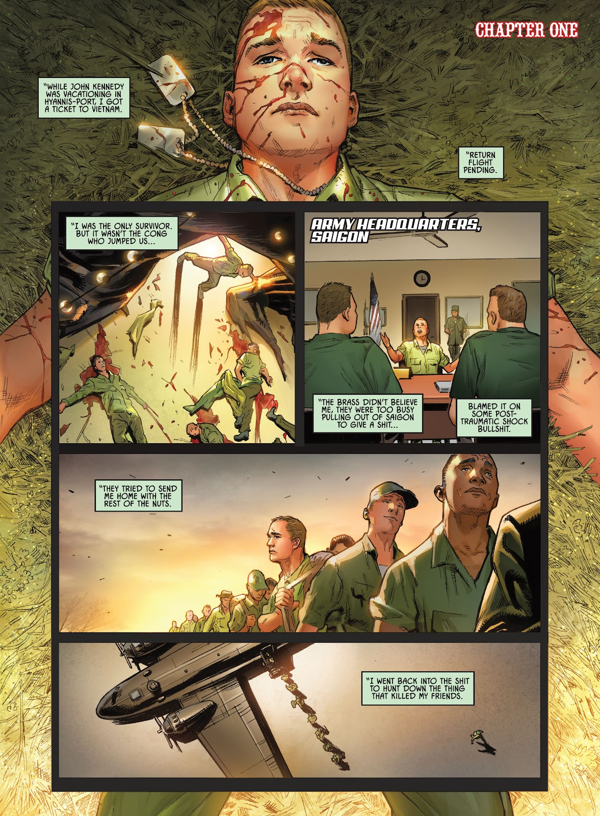 Savage Circus issue 1 - Page 3