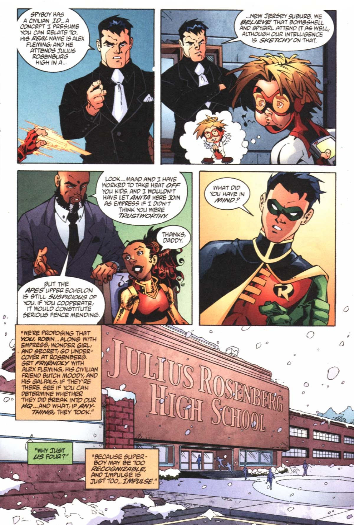 Read online SpyBoy/Young Justice comic -  Issue #1 - 11